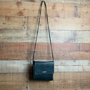 Esprit Green Leather Crossbody Purse